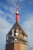 Transmitter on Lysa hora Royalty Free Stock Image