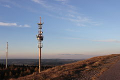 Transmitter mast Stock Photography
