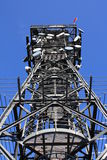 Transmitter metal construction Royalty Free Stock Photos