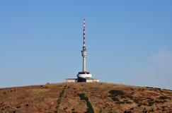 Transmitter - Praded. The Czech Republik Stock Photography