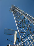 Transmitter and receiver antenna Royalty Free Stock Photography