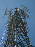 Transmitter and receiver antenna Royalty Free Stock Images
