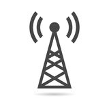Transmitter simple icon Stock Images