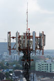 Transmitter station Stock Photo