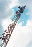 Transmitter tower. Stock Image