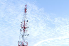 Transmitter tower Stock Image