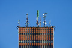 Transmitter tower Stock Image