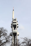 Transmitter tower in Prague Stock Photos