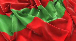 Transnistria Flag Ruffled Beautifully Waving Macro Close-Up Shot. Studio Royalty Free Stock Images