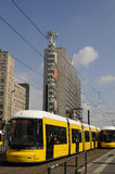 TRANSORT IN BERLIN. Berlin - Germany_13  August  2016- Tram and other transportation   / Photo. Francis Joseph Dean/Deanpictures Stock Photo