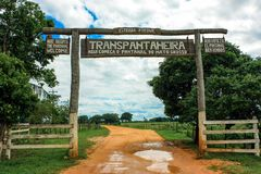 Transpantaneira Stock Image