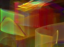 Transparancy e colori Immagine Stock Libera da Diritti