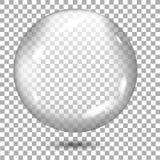 Transparant grijs gebied met schaduw op transparante achtergrond Vector royalty-vrije illustratie