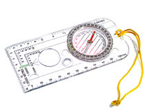 Transparant kompas Stock Foto's