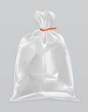 Transparant polyethyleenpakket vector illustratie