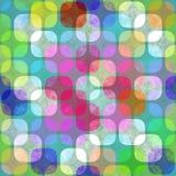 Transparant retro patroon vector illustratie