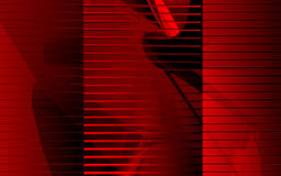 Transparant rood Stock Afbeeldingen