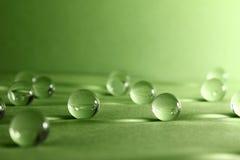Transparante ballen Abstractie Stock Foto