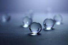 Transparante ballen Abstractie Royalty-vrije Stock Foto's