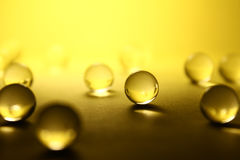 Transparante ballen Abstractie Stock Afbeeldingen