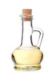 Transparante glaskruik met een drank Stock Foto