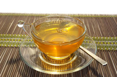 Transparante kop thee Royalty-vrije Stock Afbeeldingen