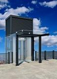 Transparante lift Externe lift Stock Afbeeldingen