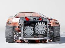 Transparante modelauto's Royalty-vrije Stock Fotografie