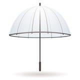 Transparante paraplu stock illustratie