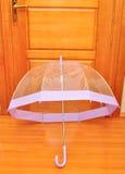 Transparante paraplu Royalty-vrije Stock Foto