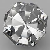 Transparante planmening van het kristal Stock Fotografie