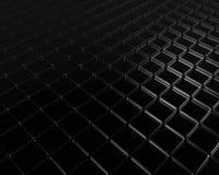 Transparante vluchtende zwarte vloer Royalty-vrije Stock Afbeeldingen