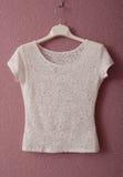 Transparante witte blouse Royalty-vrije Stock Afbeeldingen
