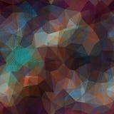 Transparency paisley on dark geometric background Royalty Free Stock Image