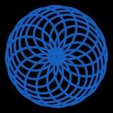 Transparent Abstract globe elegan line blue for logo or symbol or etc royalty free illustration