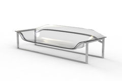 Transparent Acrylic Sofa 1 Stock Photography