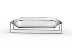 Transparent Acrylic Sofa 2 Stock Photos