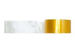 Transparent adhesive tape Stock Photos