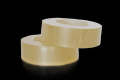 Transparent adhesive tapes Stock Photography