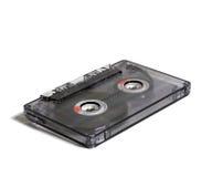 Transparent audiocassette Royalty Free Stock Photo