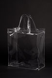 Transparent Bag On Black Royalty Free Stock Photo