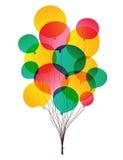 Transparent balloons Royalty Free Stock Image