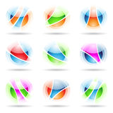 Transparent Balls Royalty Free Stock Images