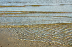 Transparent Baltic sea. Royalty Free Stock Photography