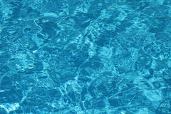 Transparent blue water  background Stock Photo