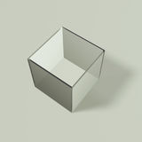 Transparent box Stock Images