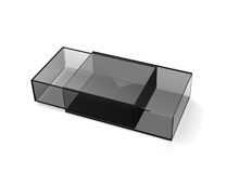 Transparent boxes Royalty Free Stock Image