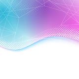 Transparent bright lines background border Royalty Free Stock Image