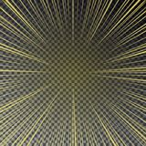 Transparent bright sun shines on a checkered background.  Royalty Free Stock Image