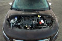 Transparent car engine Stock Images